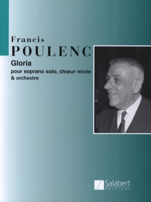 Gloria POULENC Partition Grand format - laflutedepan
