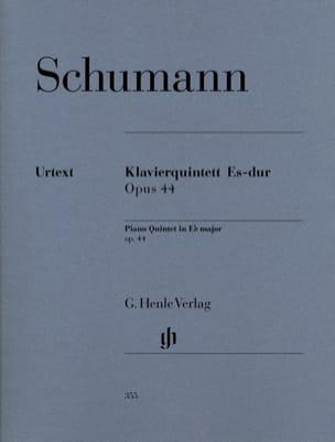 Klavierquintette Es-Dur op. 44 -Stimmen SCHUMANN laflutedepan