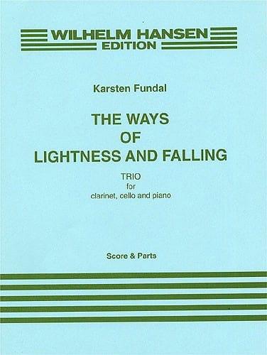 The Ways of Lightness and Falling -Score + Parts - laflutedepan.com