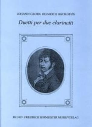 Duetti per due clarinetti - laflutedepan.com