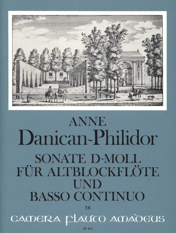 Sonate d-mol - Altblockflöte u. Bc - laflutedepan.com