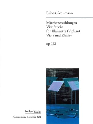 Märchenerzählungen, op. 132 -Klarinette Violine Viola Klavier laflutedepan