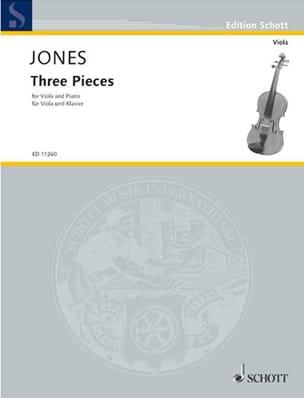 3 Pièces Douglas Jones Partition Alto - laflutedepan