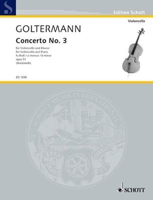 Georg Goltermann - Concierto n. ° 3 si es menor Opus 51 - Partition - di-arezzo.es