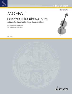 Klassiker-Album Alfred Moffat Partition Violoncelle - laflutedepan