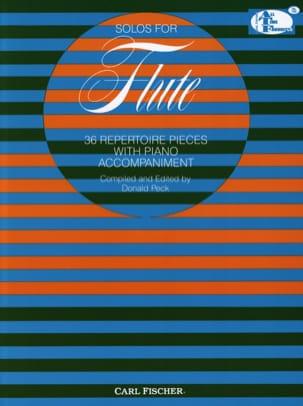 - Solos For Flute - 36 piezas de repertorio - Partition - di-arezzo.es