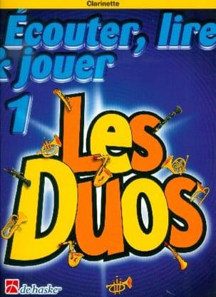 Ecouter Lire et Jouer - Les Duos Volume 1 - 2 Clarinettes laflutedepan