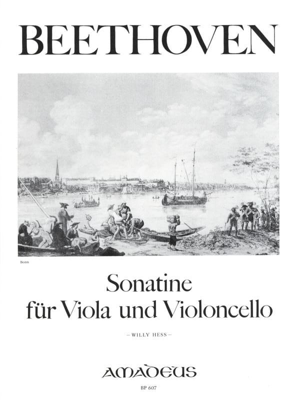 Sonatine für Viola und Violoncelle - BEETHOVEN - laflutedepan.com