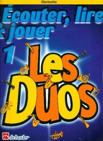 Ecouter Lire et Jouer - Les Duos Volume 1 - 2 Clarinettes - laflutedepan.com