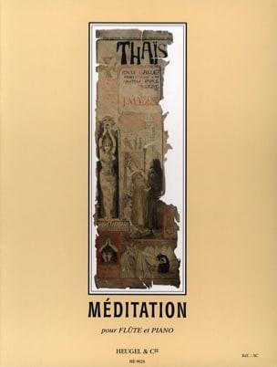 Méditation de Thaïs - Flûte MASSENET Partition laflutedepan