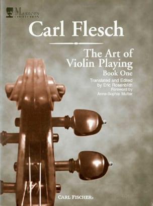 The Art Of Violin Playing Volume 1 Carl Flesch Partition laflutedepan