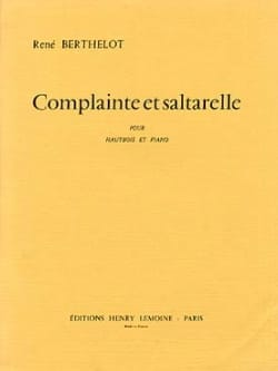 Complainte et Saltarelle - René Berthelot - laflutedepan.com