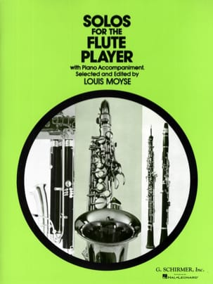 Solos for the Flute Player Partition laflutedepan