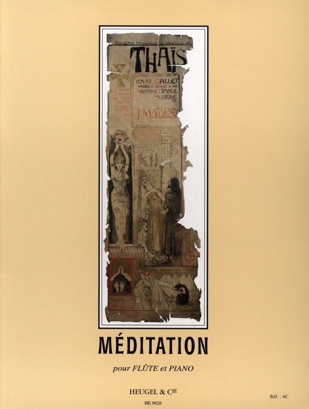 Méditation de Thaïs - Flûte - MASSENET - Partition - laflutedepan.com
