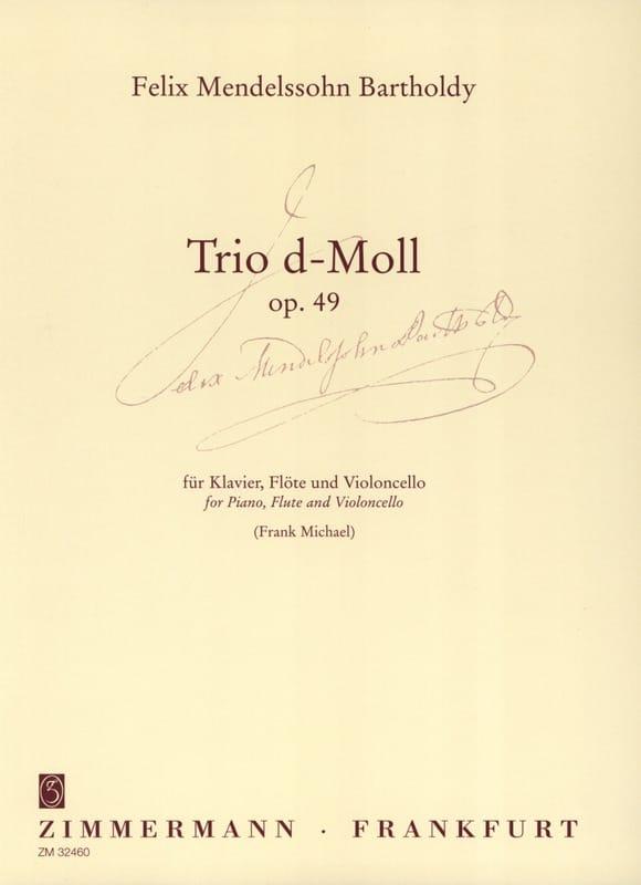 Trio d-moll op. 49 - Klavier Flöte Cello - laflutedepan.com