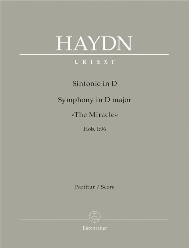 Symphonie En Ré - Hob.1:96 - HAYDN - Partition - laflutedepan.com