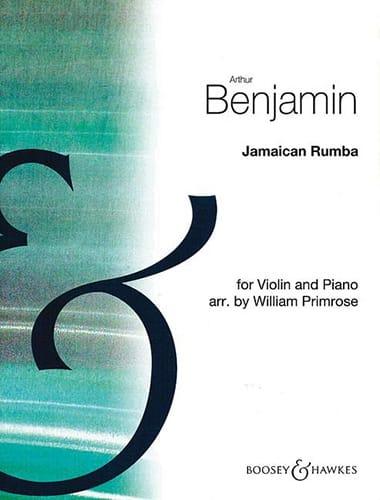 Jamaican Rumba - Arthur Benjamin - Partition - laflutedepan.com