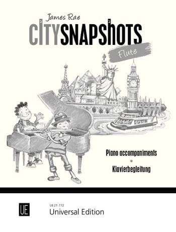 City Snapshots Flute - Accompagnements Piano - laflutedepan.com