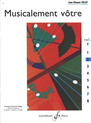 Musicalement Vôtre Volume 2 Jean-Clément Jollet Partition laflutedepan
