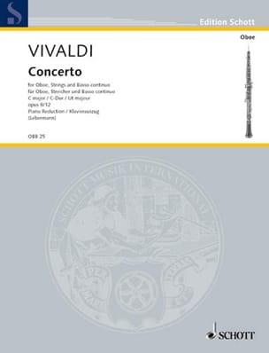 Concerto C-Dur op. 8/12 (RV 449-Oboe Klavier VIVALDI laflutedepan
