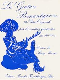 La guitare romantique - Volume 1 Thierry Meunier laflutedepan