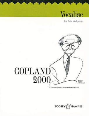 Vocalise COPLAND Partition Flûte traversière - laflutedepan