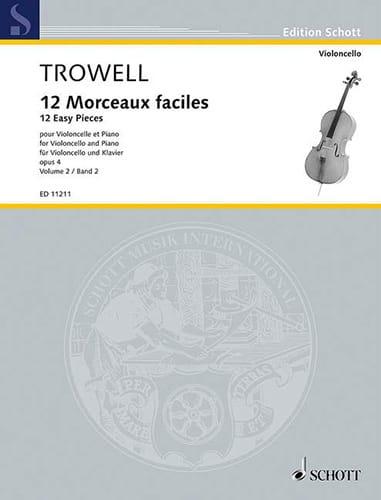 12 Morceaux Faciles Opus 4 Volume 2 - laflutedepan.com