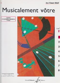 Musicalement Vôtre Volume 2 - Prof Jean-Clément Jollet laflutedepan