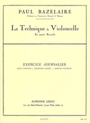 Exercice journalier Technique du violoncelle - Recueil 2 laflutedepan