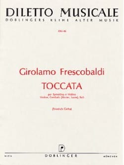Toccata - Violon FRESCOBALDI Partition Violon - laflutedepan