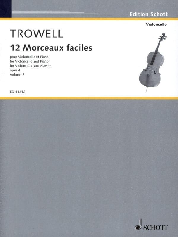 12 Morceaux faciles, op. 4 Volume 3 - laflutedepan.com