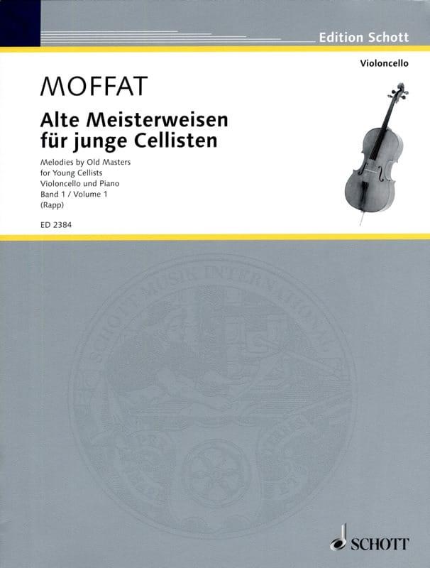 Alte Meisterweisen für junge Cellisten Bd. 1 - laflutedepan.com