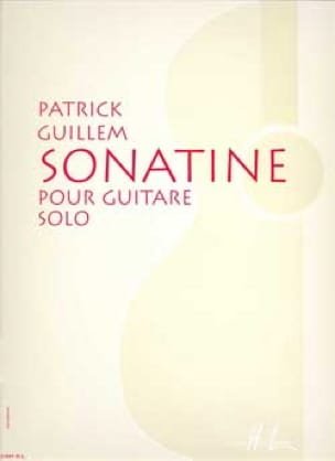 Sonatine - Patrick Guillem - Partition - Guitare - laflutedepan.com