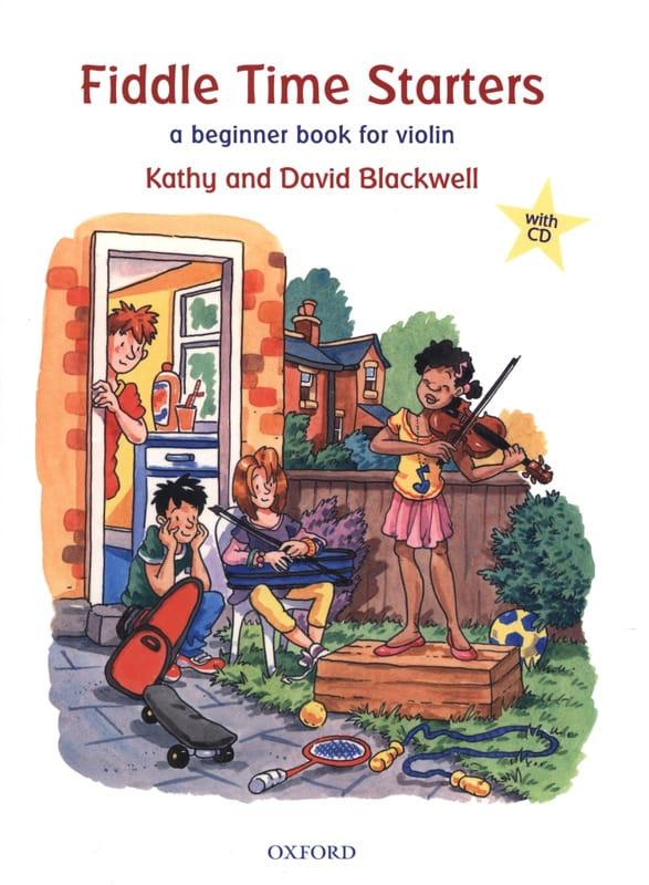 Fiddle Time Starters - Partition - Violon - laflutedepan.com