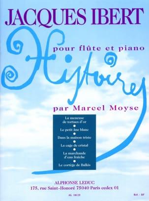 Histoires Recueil complet -Flûte piano IBERT Partition laflutedepan
