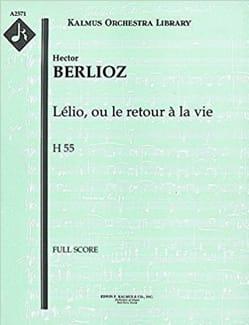 Lelio Op. 14b - BERLIOZ - Partition - Grand format - laflutedepan.com