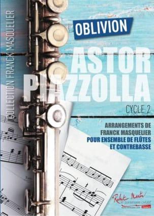 Oblivion - Ensemble de Flûtes Astor Piazzolla Partition laflutedepan