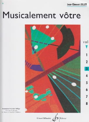 Musicalement Vôtre Volume 3 - Jean-Clément Jollet - laflutedepan.com