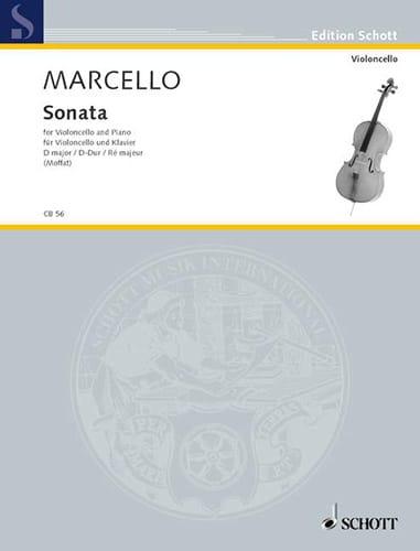 Sonate D-Dur - Benedetto Marcello - Partition - laflutedepan.com