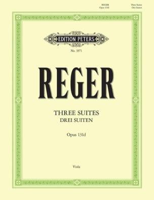 3 Suites op. 131d Max Reger Partition Alto - laflutedepan