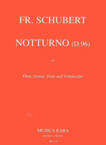 Notturno D. 96 - Flute guitar viola violoncello - laflutedepan.com