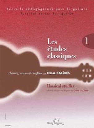 Les Etudes Classiques Volume 1 - Partition - laflutedepan.com