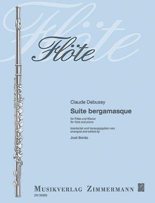 Suite Bergamasque DEBUSSY Partition Flûte traversière - laflutedepan