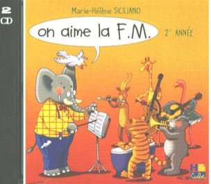 CD - On Aime la FM Volume 2 SICILIANO Partition laflutedepan