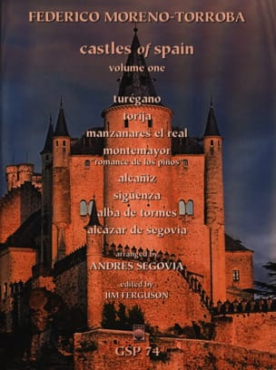 Castles Of Spain Volume 1 Federico Moreno-Torroba laflutedepan