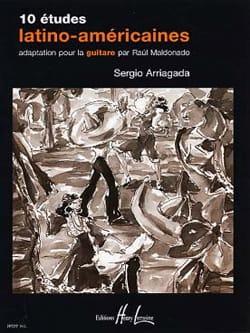 10 Etudes latino-américaines -Guitare Sergio Arriagada laflutedepan