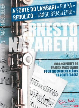 A Fonte do Lambari / Rebolico Ernesto Nazareth Partition laflutedepan
