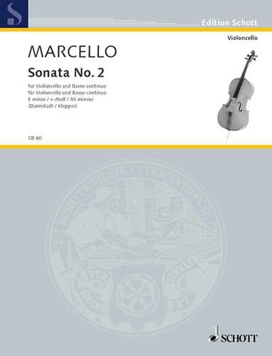 Sonate n° 2 en mi mineur - Benedetto Marcello - laflutedepan.com