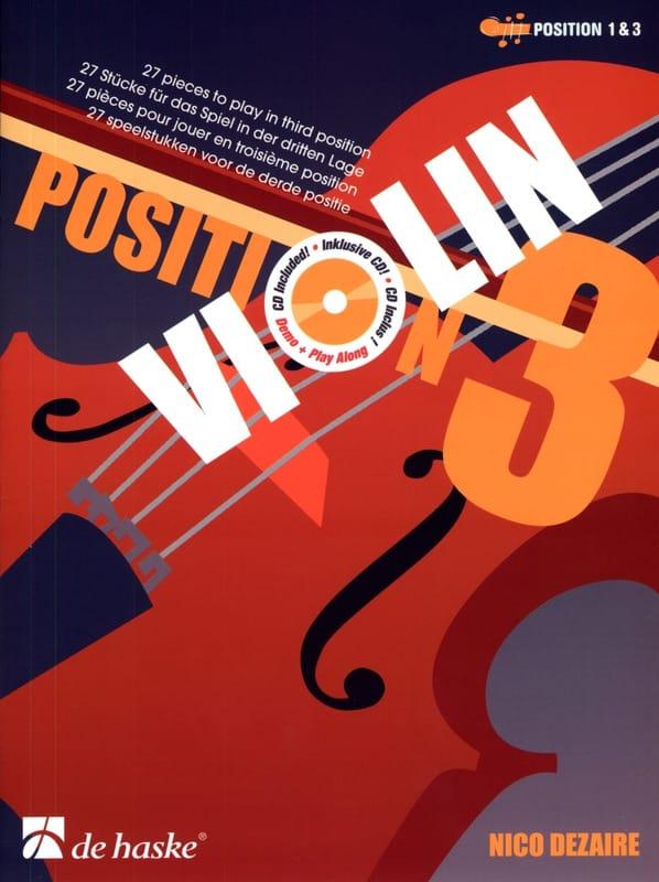 Position 3 - Violon - Nico Dezaire - Partition - laflutedepan.com