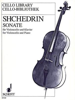 Sonate - Violoncelle Rodion Shchedrin Partition laflutedepan